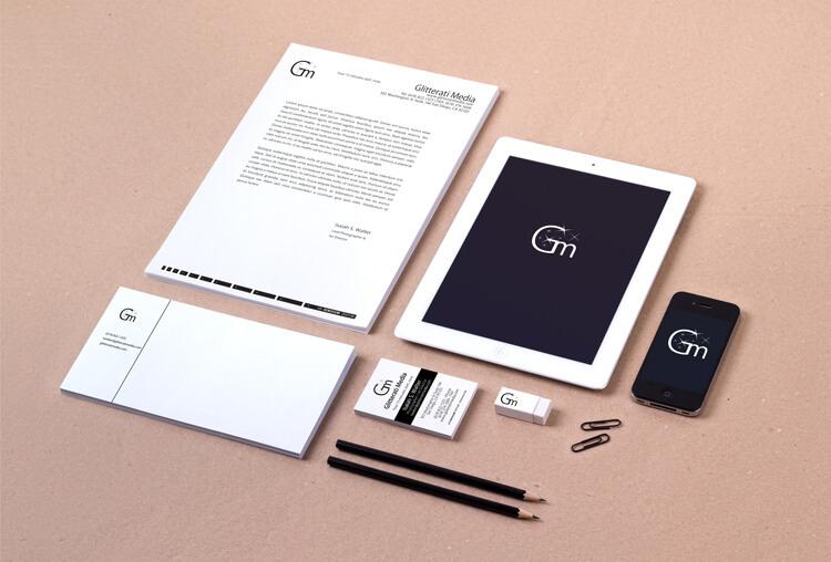 Glitterati Media – Branding Design