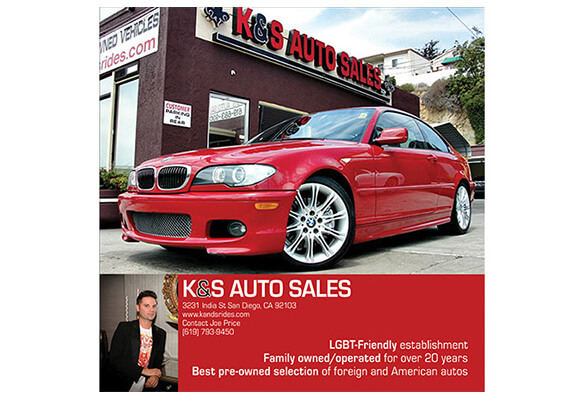 K&S Auto – Full Page Magazine Ad