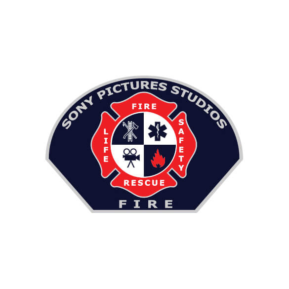 Sony Pictures Studios Fire Department Logo Design
