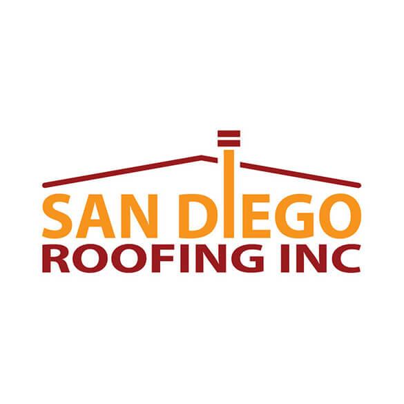San Diego Roofing Inc - Logo Design