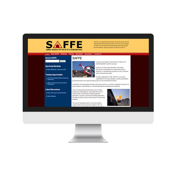 SAFFE – CMS Website Conversion