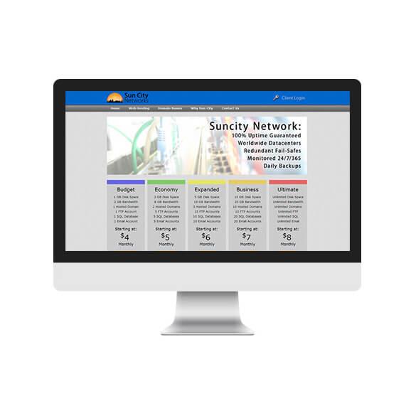 Sun City Networks - San Diego Web Design