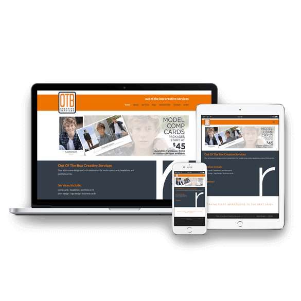 Out of the Box Creative Services - Website Design